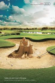 best photo manipulation creative ads images  audi sand castle today let your inner child play montreal audi dealers proudly support the chu sainte justine foundation