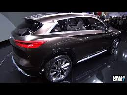 2018 infiniti ex. contemporary 2018 2018 infiniti qx50 concept  world premiere naias detroit 2017 and infiniti ex