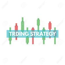 Chart Advisor Candlestick Chart Trade Advisor Logo Concept Vector Illustration