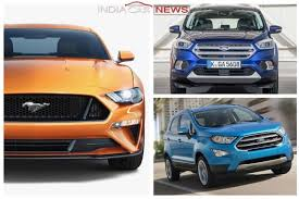 new car launches fordUpcoming Ford Cars in India in 2017 2018  6 New Cars