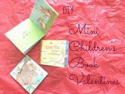 diy mini children s book valentines