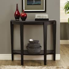 black half moon console table. Simple Table Furniture Black Wooden Hall Accent Half Moon Console Table With Pictures On  Remarkable Chests Tables Makeup Storage Entrywayole Decorating Ideasentryway  In