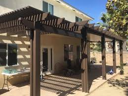 aluminum patio cover brown. Brilliant Patio Affordably Increase The Resale Value Of Your Home Throughout Aluminum Patio Cover Brown A