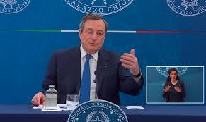 Riaperture, vaccini, zone gialle. La conferenza stampa del Presidente Draghi  [VIDEO]