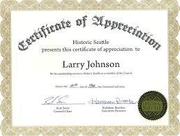 Certificate Of Appreciation Volunteer Work 10 Volunteer Appreciation Certificates Resume Samples