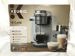 Choose the latte or cappuccino button on the machine to assure the correct size and brew method. Keurig K Cafe Special Edition Single Serve Coffee Latte Cappuccino Maker Nickel For Sale Online Ebay