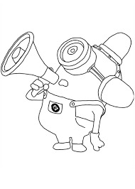Small Picture Despicable Me Coloring Pages Dave N danet
