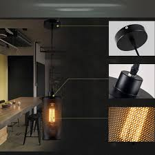 new vintage industrial diy ceiling lamp edison light