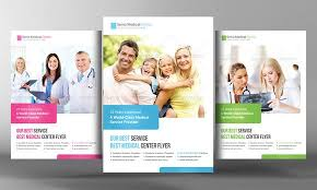 Medical Health Care Flyer Template By Business Templates On