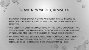 brave new world brave new world