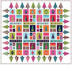 Fabritastic - Makower Fabric & Makower Fabric - Wrap It Up Christmas - Quilt Kit - 100% Cotton Adamdwight.com