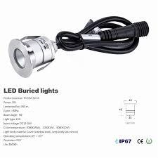 lighting ip67 led underground light outdoor lighting path recessed degree spot 110v fixtures pathway 110v