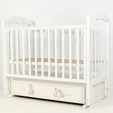 """<b>Кровать детская 120*60</b> """"Сильвия-7"""" (арт.48) """"Зайки-Акварель ..."""
