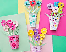 Paper Art Flower How To Make 3d Paper Flower Bouquets With Video