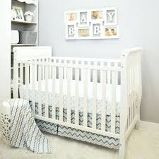 grey crib bedding uk chevron nursery sets . grey crib ...