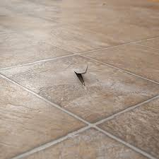 damaged vinyl flooring