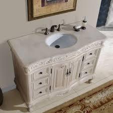 single sink traditional bathroom vanities. 48\u201d Ella - Bathroom Vanity Single Sink Cabinet (White Oak Finish . Traditional Vanities