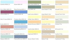 Interior Color Chart Lowes Paint Color Chart Paint Colors At All Explore Exterior