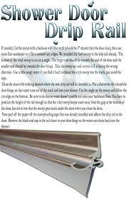 drip rail for shower door framed glass shower door aluminum metal drip rail with wipe seals replacement plastic piece quality shower door bottom drip rail