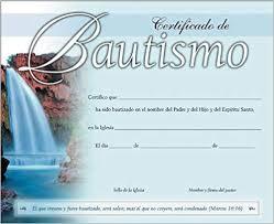 Certificado De Bautismo Template Comprar Batas Batas De Trabajo De Casa De Baño