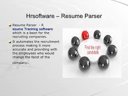 ... 5. Hrsoftware  Resume Parser ...