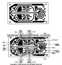 simple circuit diagram pcb layout images circuit diagram op wiring diagram stereo tone control circuit