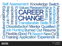career change word cloud on white background stock photo stock career change word cloud on white background