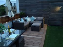 small terrace furniture. Outdoor:19 Small Balcony And Patio Design Inspirative Roof Terrace Furniture On Hardwood Deck With N