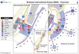 Brisbane airport map - Brisbane ...