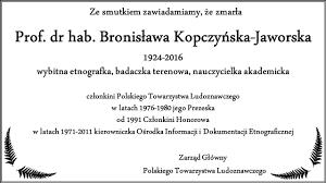 PTL Polskie Towarzystwo Ludoznawcze Zarz d G wny Strona.