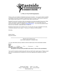 fundraising letter template non profit organizations