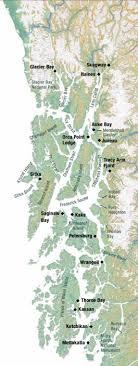 Southeast Alaska Chart Map Of Se Alaska Allen Marine Tours