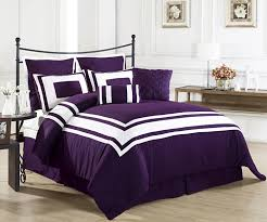 Purple Black And White Bedroom Purple Bedrooms Gray Bedroom With White Iron Canopy Bed Having