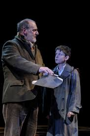 olivier award winning west end production of goodnight mister tom david troughton tom oakley and alex taylor mcdowall william in goodnight
