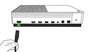 no power xbox one console illustration of the back of the xbox one s the power cord being unplugged