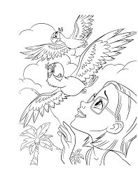 Coloriage Dessin Anime Rio A Imprimerll L Duilawyerlosangeles