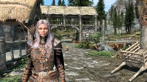 Just Now Hit Me That The Leather Neck Piece On The Dawnguard