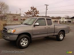 2000 Toyota Tundra SR5 Extended Cab 4x4 in Thunder Gray Metallic ...