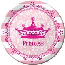 Princess Party Dinner Plates (8) Pink Supplies - Girls Birthday Ideas |