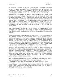 lusaka ecological sanitation conference final report hpm
