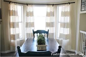 diy painted drop cloth curtains 11