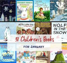 thirty one children s books for january