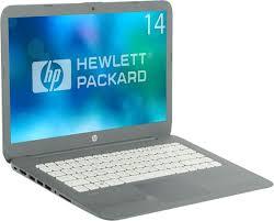 """14"""" <b>Ноутбук HP Stream 14-ax018ur</b> (2EQ35EA), серый — купить в ..."""