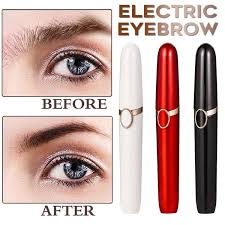 <b>New Design Electric Eyebrow</b> Trimmer Makeup Painless Eye Brow ...
