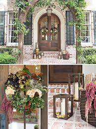 front door decor summer5 Tips for Fall Front Door Flower Wreaths with Pottery Barn  Camp