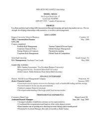 Cv Sample Mba Application Peruantitaurino Org