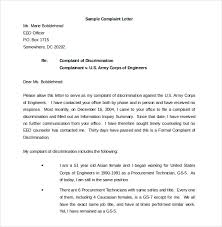 complaint letter examples 12 environment complaint letter templates free sample example