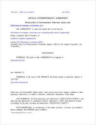 11+ Mutual Confidentiality Agreement Examples - Pdf, Word