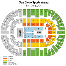 Valley View Casino Center Wwe Seating Chart Valley View Casino San Diego Map Best Slots