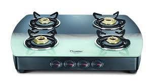 gas stove burner. buy prestige premia glass 4 burner gas stove, black and white online at low prices in india - amazon.in stove